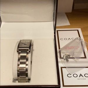 Coach Accessories - Coach Lexi watch silver